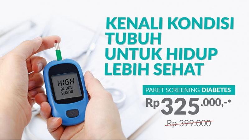 Paket Screening Diabetes image