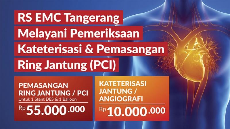 Paket Pemeriksaan Kateterisasi & Pemasangan Ring Jantung (PCI) image