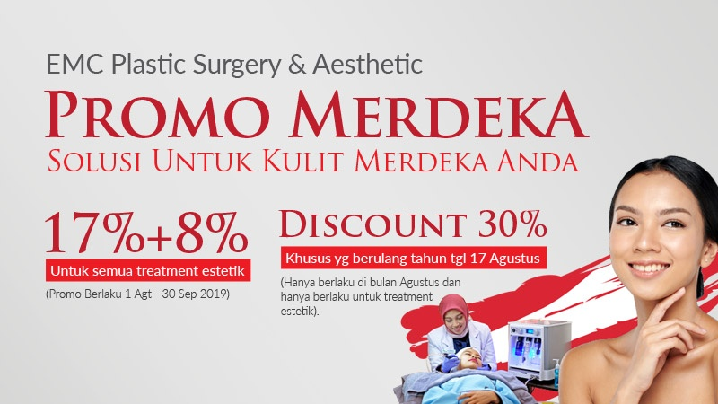 Promo Merdeka EMC Aesthetic image
