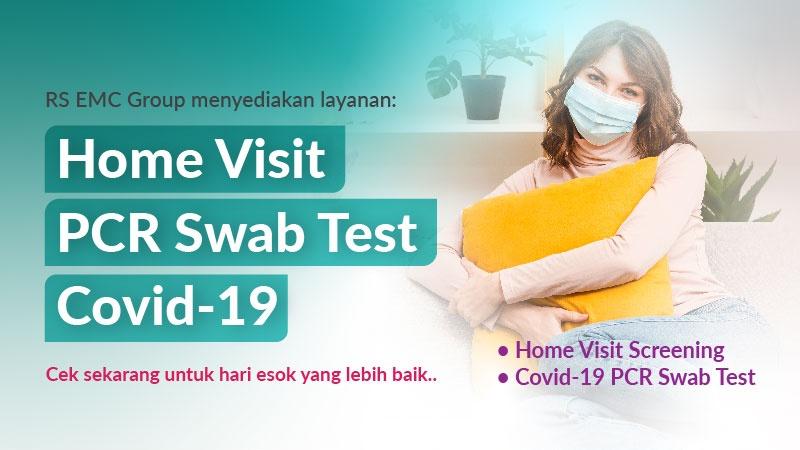 Home Visit PCR Swab Test Covid-19 image