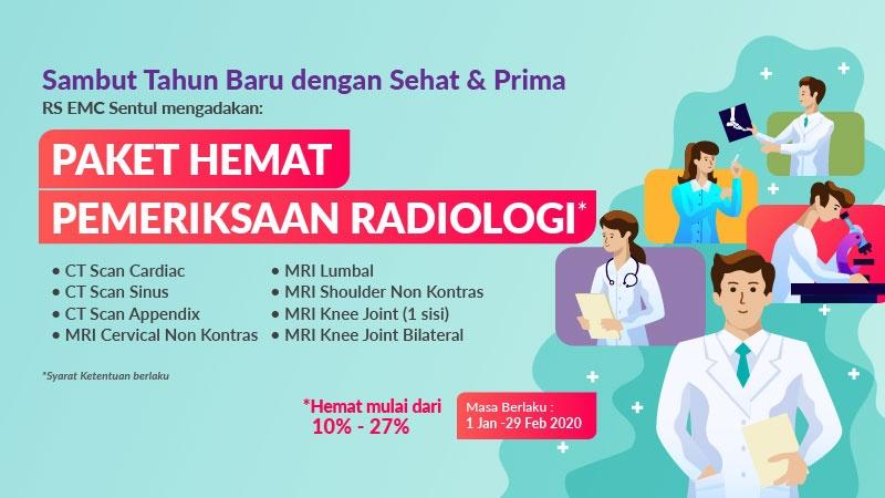 Paket Hemat Pemeriksaan Radiologi image