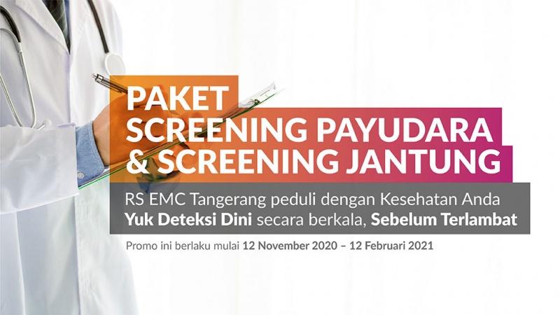 Paket Screening Payudara & Screening Jantung image