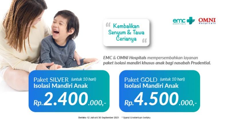 Paket Isolasi Mandiri Anak Prudential image