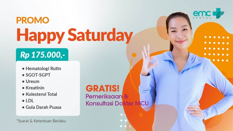 Paket Promo Happy Saturday image