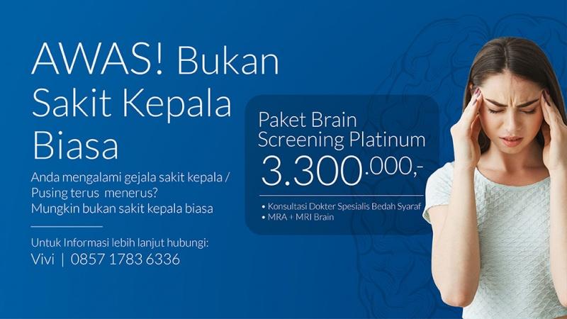 Paket Brain Screening Platinum image