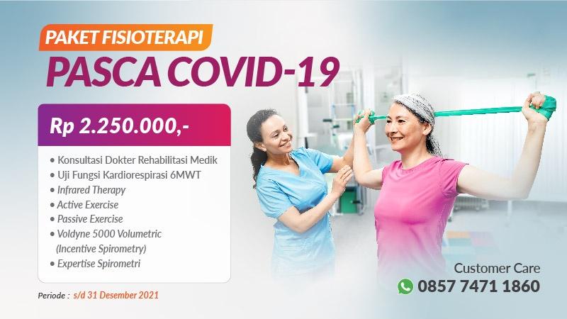 Paket Fisioterapi Pasca Covid-19 image