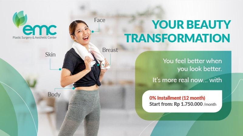 Cicilan 0% EMC Plastic Surgery & Aesthetic Center image