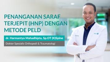 Pengobatan Syaraf Terjepit Dengan Metode PELD image